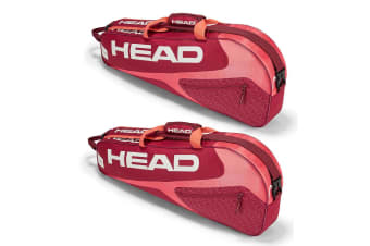 2PK Head Elite 3R Pro Sports Shoulder Carry Bag for 3 Tennis Racquets/Rackets RD