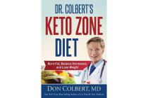 Dr. Colbert's Keto Zone Diet - Burn Fat, Balance Appetite Hormones, and Lose Weight