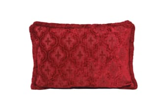 Riva Home Westminster Cushion Cover (Raspberry) (55x55cm)