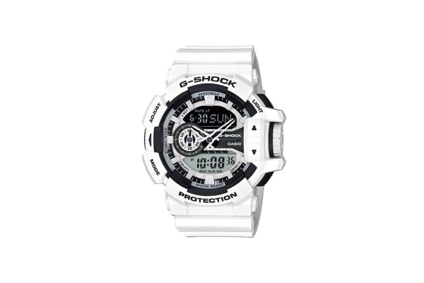 Casio G-Shock Ana-Digital Watch - Black/White (GA400-7A)