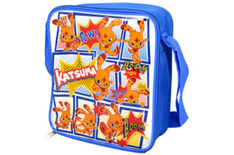 Moshi Monsters Childrens/Kids Official Katsuma Insulated Lunch Bag (Blue/White) (One Size)