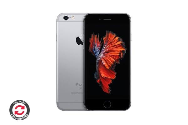 Apple iPhone 6s Plus (128GB, Silver) - Apple Certified Refurbished