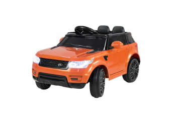 Range Rover Inspired 12v Ride-On Kids Car Remote Control - Orange