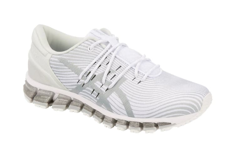 ASICS Women's Gel-Quantum 360 4 Running Shoe (White/Mid Grey, Size 9.5)