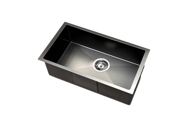 Kitchen Sink with Waste Strainer 30 x 45cm (Charcoal)