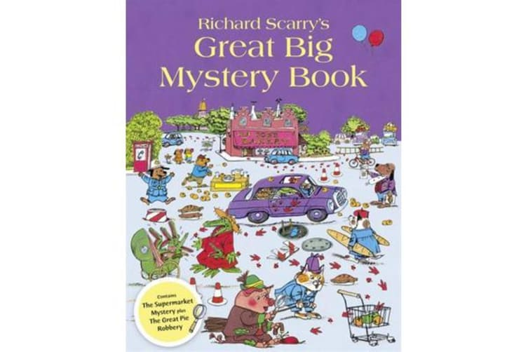 Richard Scarry's Great Big Mystery Book