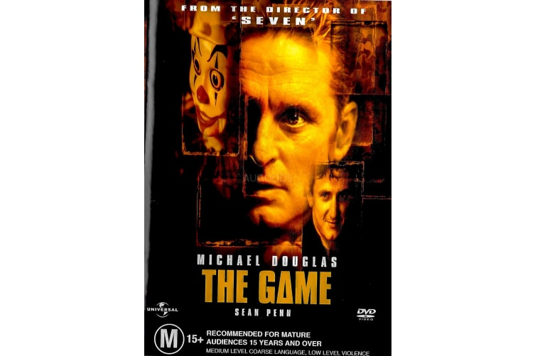 The Game - Rare- Aus Stock DVD PREOWNED: DISC LIKE NEW