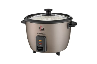 Kambrook Rice Express 8 Cup Rice Cooker - Chocolate Bronze (KRC80CHO)