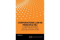 Corps Law in Principle 9e/ Corps Leg 2016