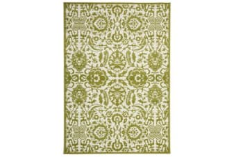 Funky Lace Design Lime Rug