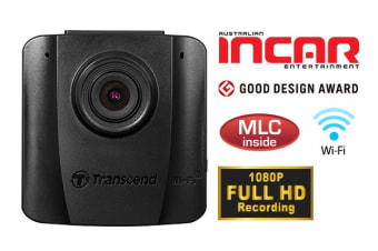 Transcend DrivePro 50 Dash Cam with Free 16GB Class 10 Micro SD (TS16GDP50M)