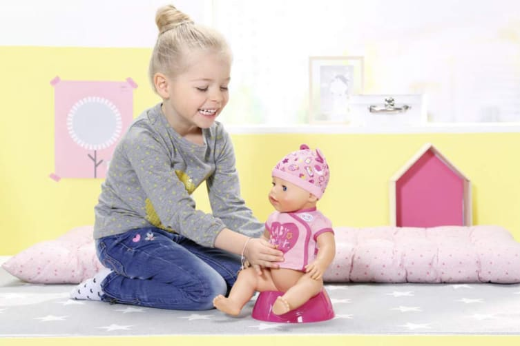 Baby Born Soft Touch Doll (Pink)