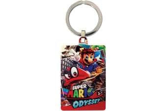 Super Mario Odyssey Key Ring (Multicoloured)
