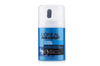 L'Oreal Men Expert Hydra Power Refreshing Face Gel To 48 Hours Hydration & Comfort 50ml/1.69oz
