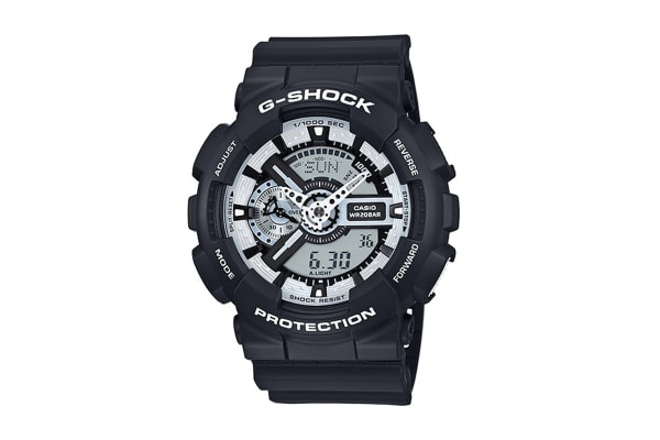 Casio G-Shock Ana-Digital Watch - Black/White (GA100BW-1A)