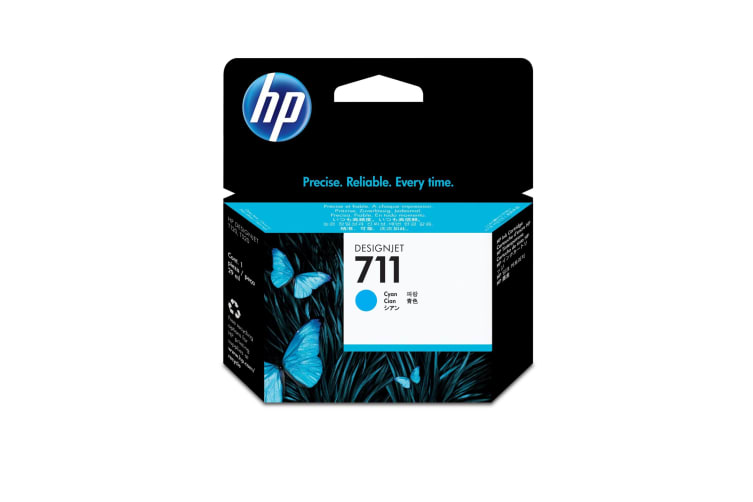 New Genuine HP 711 29ml Cyan DesignJet Ink Cartridge