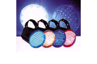Set of 4 LED Disco Strobe Light Party Light RGBY