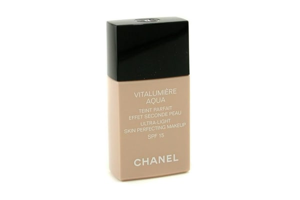 Chanel Vitalumiere Aqua Ultra Light Skin Perfecting Make Up SFP 15 - # BR40 Beige Rose Desert (30ml/1oz)