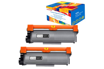 2pc Compatible TN1070 Toner for Brother HL 1110, DCP 1510, MFC 1810,1500pgs