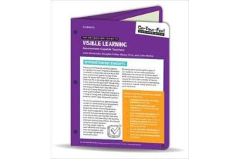 The On-Your-Feet Guide to Visible Learning - Assessment-Capable Teachers