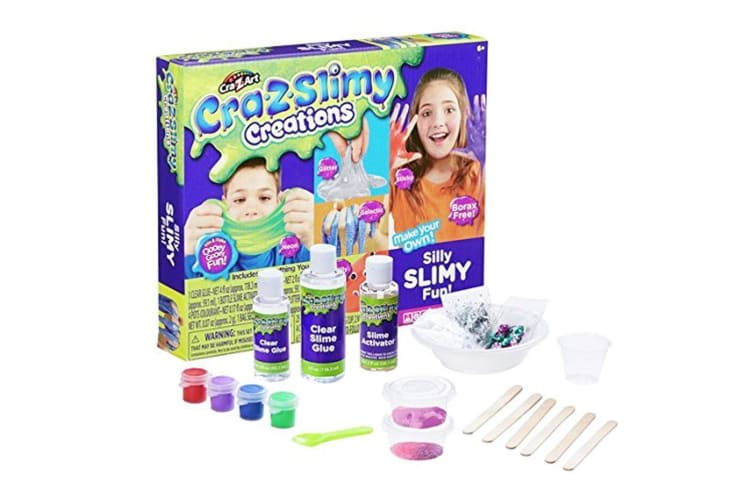 Cra-Z-Slimy Creations Silly Slimy Fun - Deluxe Slime Making Set