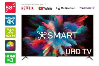 "Kogan 58"" Smart HDR 4K UHD LED TV (Series 8 LU8010)"