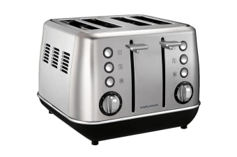Morphy Richards Evoke 4-Slice Toaster - Stainless Steel (240106)