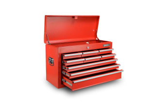 Giantz Tool Box Chest Cabinet 9 Drawers Garage Storage Toolbox Organiser Red