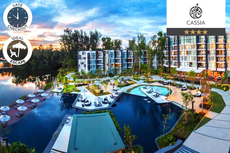 PHUKET: 7 Nights at Cassia Phuket for Two (1 Bedroom)