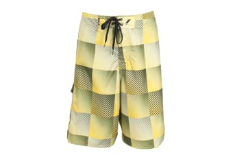 Trespass Mens Hirame Swimming Shorts/Trunks (Cactus)