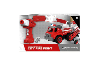 City Fire Fighter Remote Control Truck with Sounds