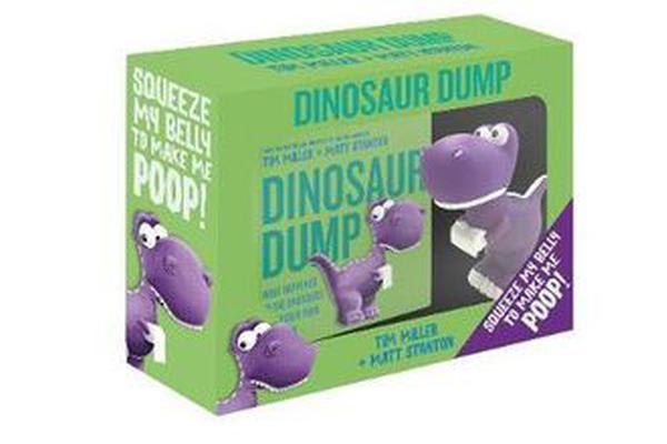 Image of Dinosaur Dump Boxed Set (Book and Dinosaur Toy)