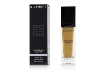 Givenchy Matissime Velvet Radiant Mat Fluid Foundation SPF 20 - #08 Mat Amber 30ml/1oz