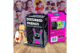 Disturbed Friends - The Game That Should Be Banned   card board party