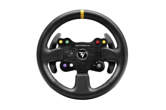 Thrustmaster Leather 28 GT Wheel Add On For T-Series Racing Wheels