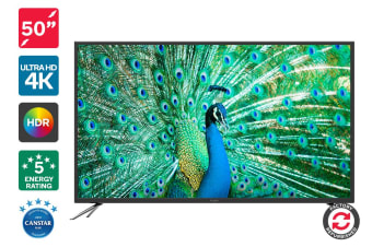 "Refurbished Kogan 50"" 4K HDR LED TV (Series 8 JU8100)"