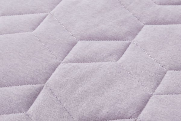Gioia Casa Quilted Jersey Quilt Cover (Super King/Soft Lavender)