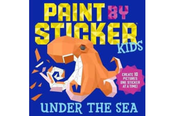 Paint by Sticker Kids - Under the Sea
