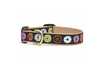 Up Country Donuts Dog Collar (Multicoloured) (M)