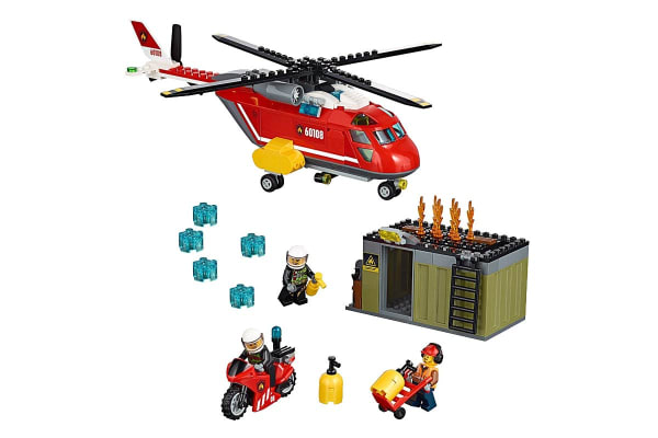 LEGO City Fire Response Unit (60108)