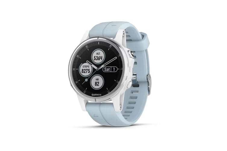 Garmin Fenix 5S Plus (White with Seafoam Band)