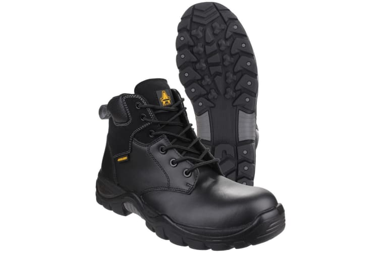 Amblers Safety AS302C Preseli Non-Metal Lace Up Safety Boot (Black) (10 UK)
