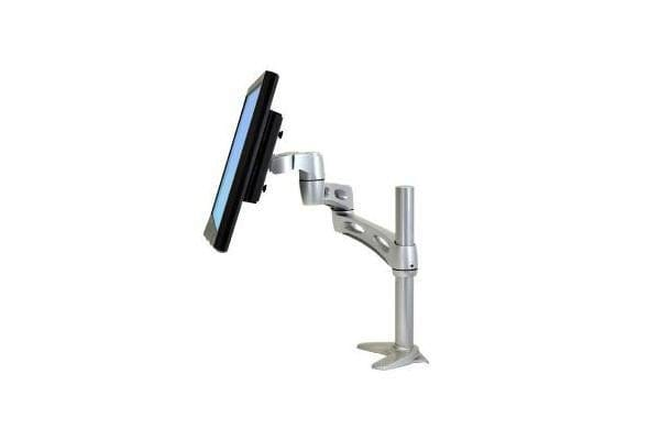 ERGOTRON NEO-FLEX VALUE EXTEND LCD ARM WITH FULL EXTENSIONRETRACTION TILT AND SCREEN ROTATION. MAX LCD SIZE24IN MAX WEIGHT 9.1KG