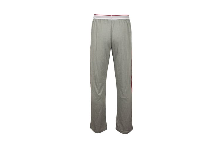 Tommy Hilfiger Men's Modern Essentials 85 Sweatpants With Logo Band (Grey Heather, Size L)