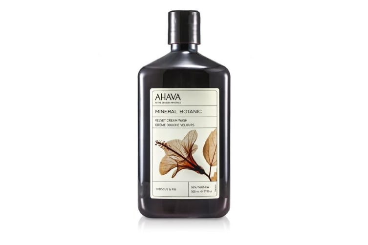 Ahava Mineral Botanic Velvet Cream Wash - Hibiscus & Fig (Very Dry Skin) 500ml