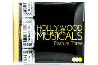 Various  - Hollywood Musicals - Feature Three BRAND NEW SEALED MUSIC ALBUM CD