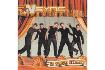 NSYNC – No Strings Attached BRAND NEW SEALED MUSIC ALBUM CD - AU STOCK