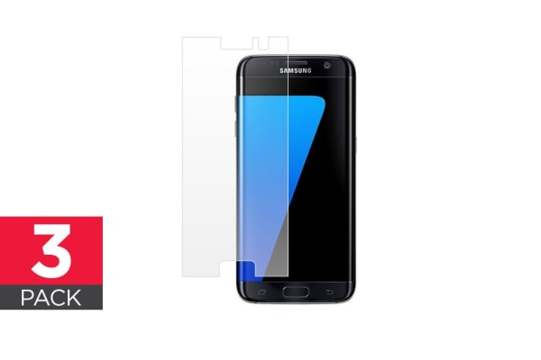 3 Pack Screen Protector for Samsung Galaxy S7 Edge
