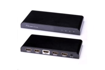 LENKENG 1 in 4 out 4Kx2K HDMI Splitter. HDMI splitter & extender. Support 3D & ultra-HD res. 4Kx2K.
