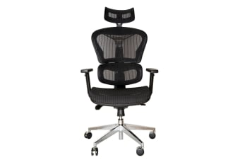 Replica Ergohuman Ergonomic Japanese Mesh Desk / Office Chair | Black